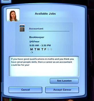 sims 3 careers