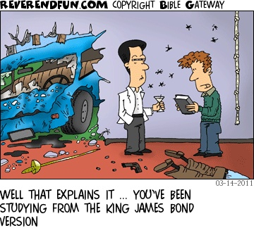 King James Bond