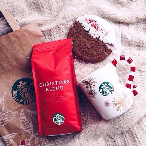 starbucks christmas coffee {☀︎ αηiкα | mer-maid-teen.tumblr.com}