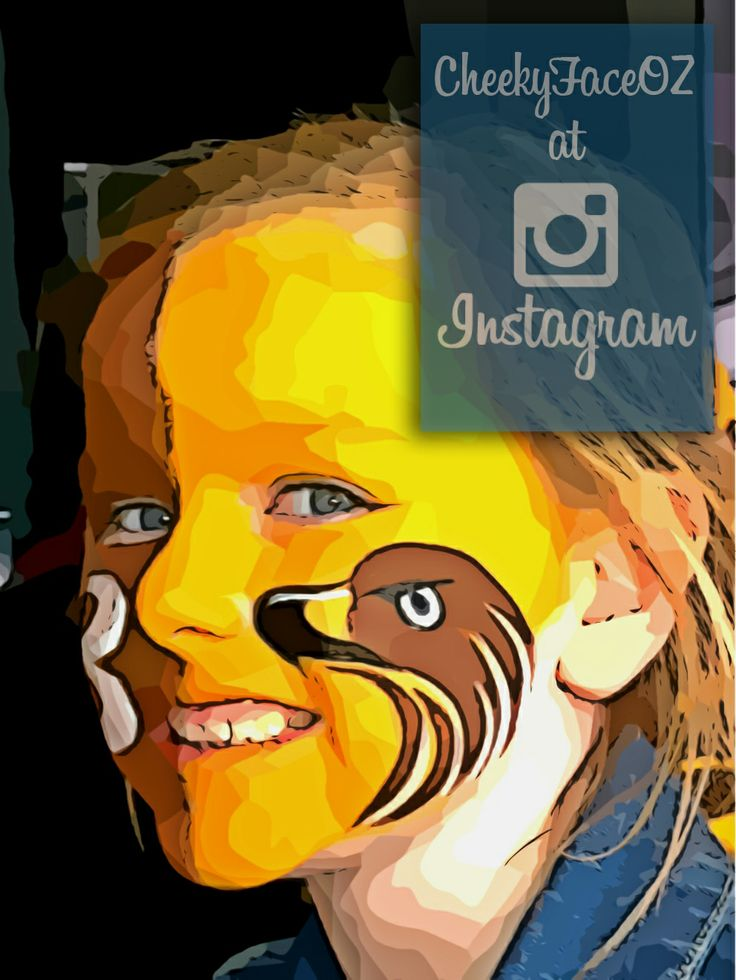 Face Painting at the 2013 AFL grand final parade #facepainting,#cheekyface,#cheekyfacepainting,#footyface,#hawthorn,#hawks,#mightyhawks,#aflgrandfinal2013,#aflfacepainting,#cartoonizer,#sports,#sportsfacepaint