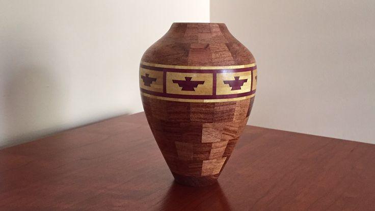 Southwestern Vase with Thunderbird Feature Ring - YouTube
