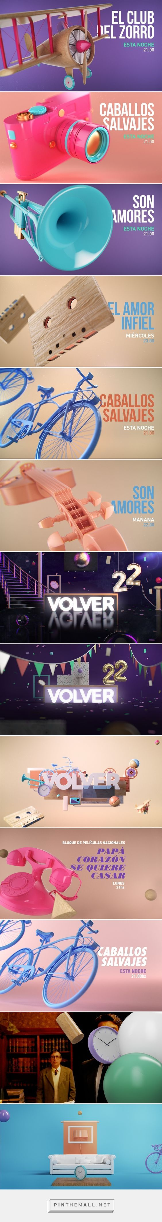CANAL VOLVER on Behance - created via https://pinthemall.net: