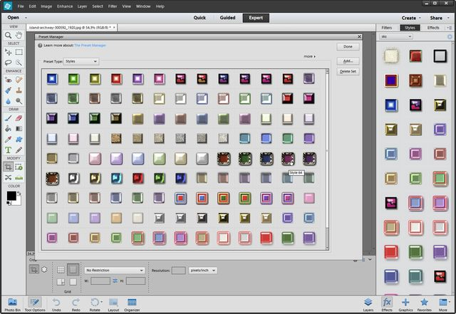 """How to Use Free Photoshop Presets in Photoshop Elements: Photoshop Elements Preset Manager is the best way to load your presets. 