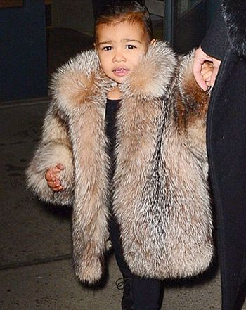 Rob Kardashian gushed about his niece North West looking stylish in a fur coat on Wednesday, Feb. 11