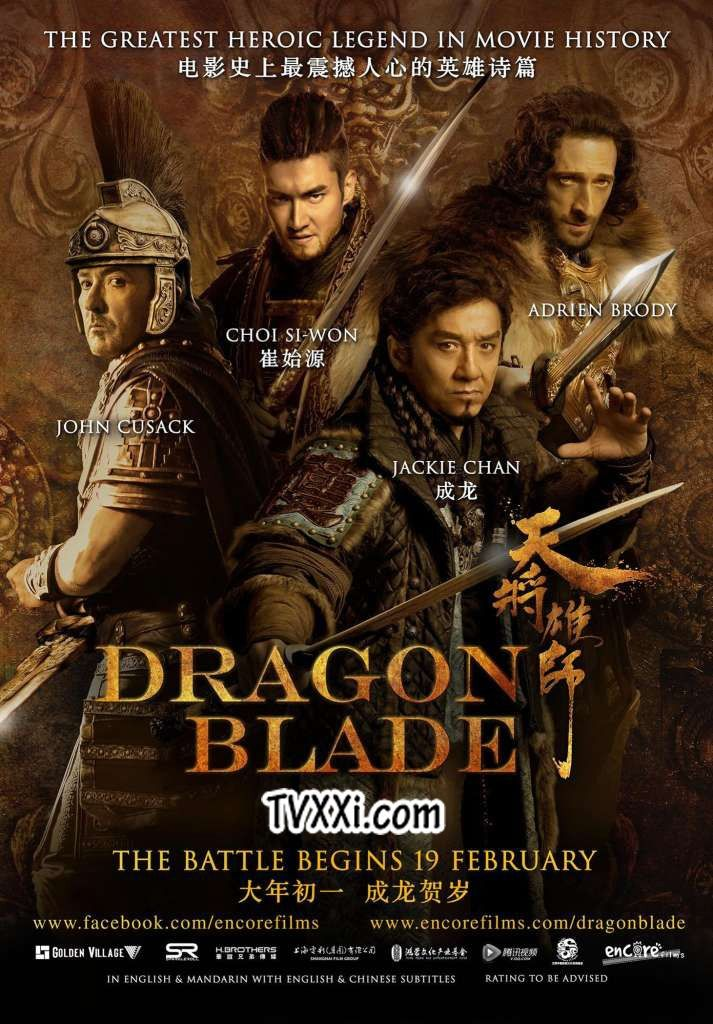Dragon Blade Nonton Film Action Jackie Chan Subtitle Indonesia