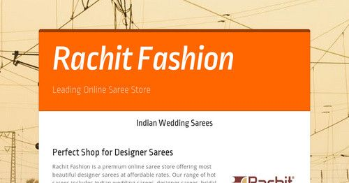 Know more about the India's leading online designer saree store.