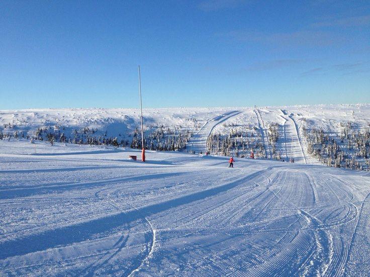 Skiing in Sälen