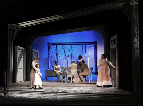 The Miracle Worker. Set design by Shawn Fisher.