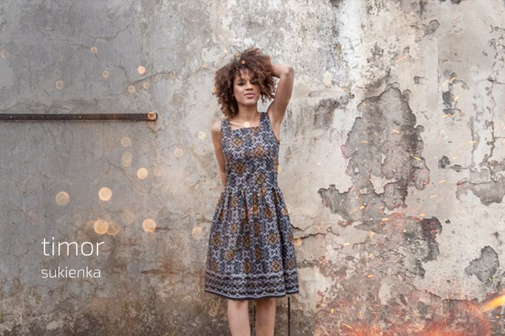 Timor dress #batik #indonesia #dress #fairtrade #madeinpoland #kokoworld