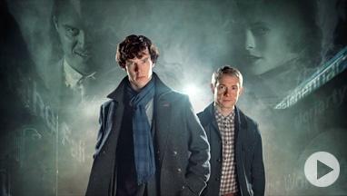 Sherlock - A Scandal In Belgravia:  Sexy, elegant, and clever.  Such an amazing reinterpretation of Sir Arthur Conan Doyle's story.