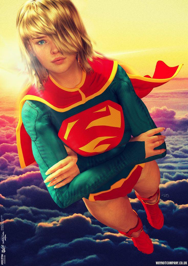 Supergirl, It's Lonely Up Here by DevilishlyCreative.deviantart.com on @DeviantArt