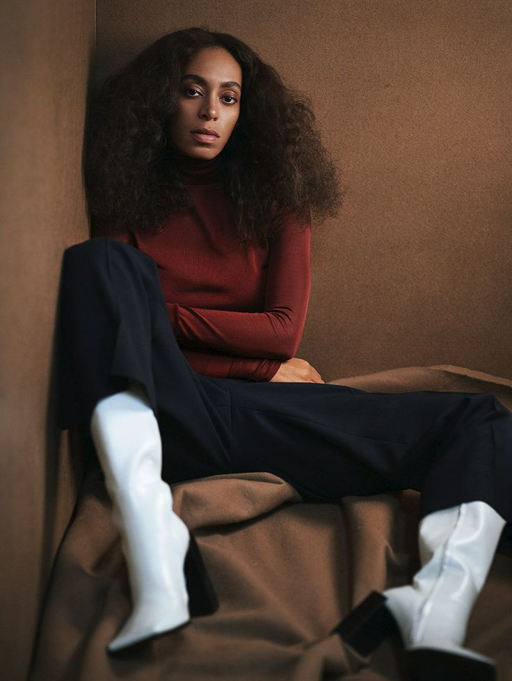 Photography: Mikael Jansson Styled by: Karl Templer Hair: Chuck Amos Makeup: Mark Carrasquillo Model: Solange Knowles