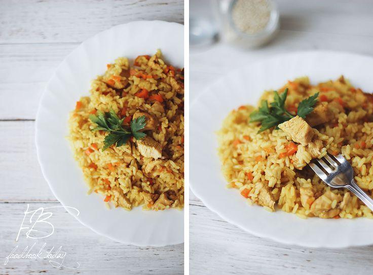 Рис с индейкой в скороварке   Food Book