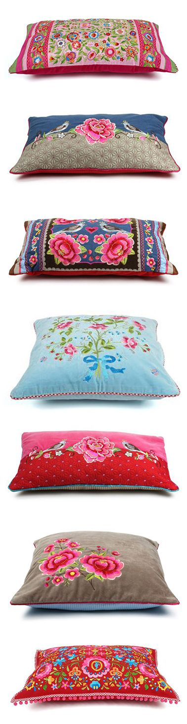 Such lovely pillows!~ Love them all!~