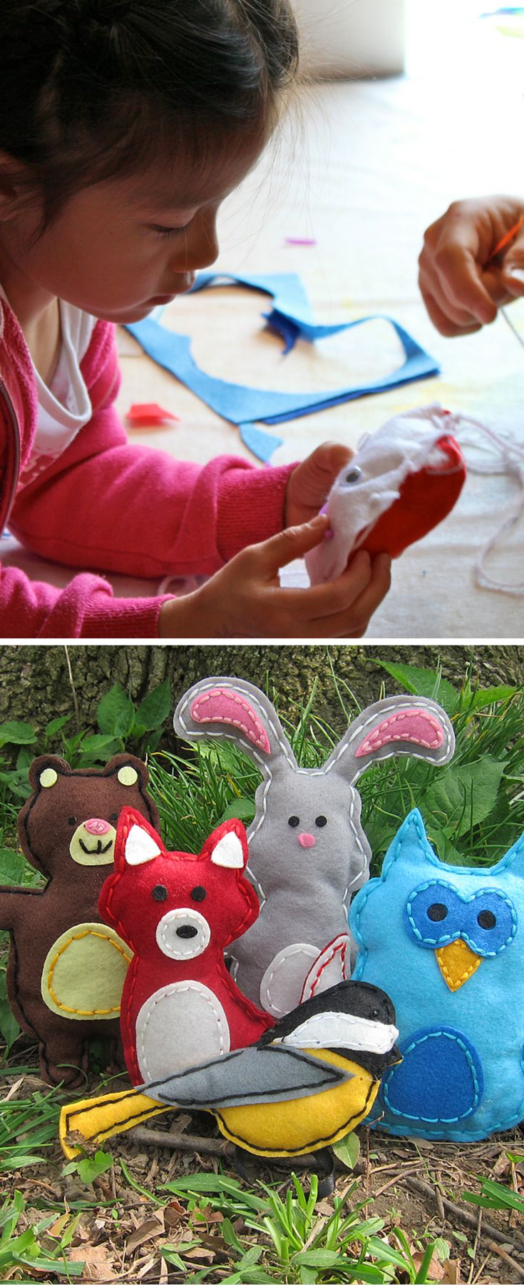 51 best kids diy party favors ideas images on pinterest for Best craft kits for kids