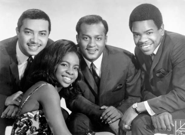 Gladys Knight And The Pips L R William Guest Gladys Knight Edward Patten And Merald Bubba Knight 1967 Gladys Knight Musician Couple Photos