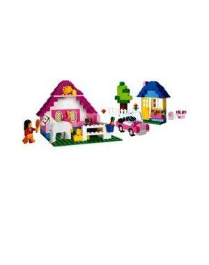 $24.42-$29.99 Baby When you're building, think pink! This pink storage case with transparent lid is portable and reusable for years of play and imagination! Includes hundreds of great LEGO elements, a minifigure and even a horse.