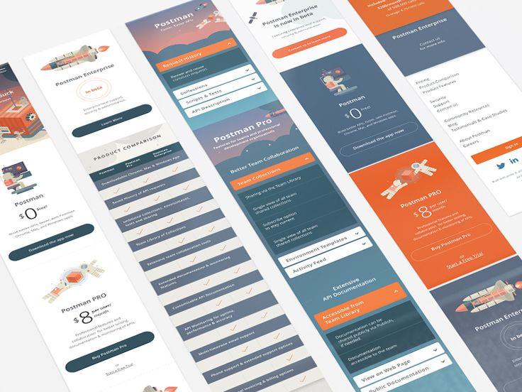 Postman App Redesign (Mobile) by Juan Carlos Sanchez