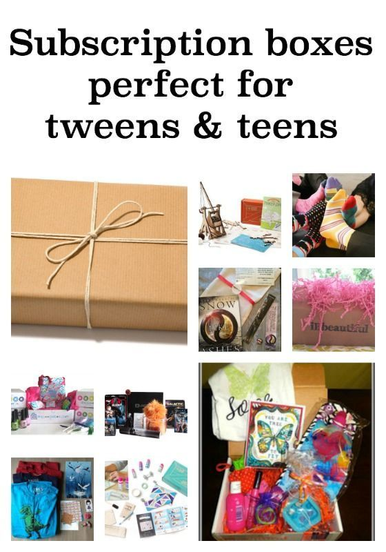 11 subscription boxes perfect for tweens and teens, both boys and girls. The gift that keeps on giving - literally