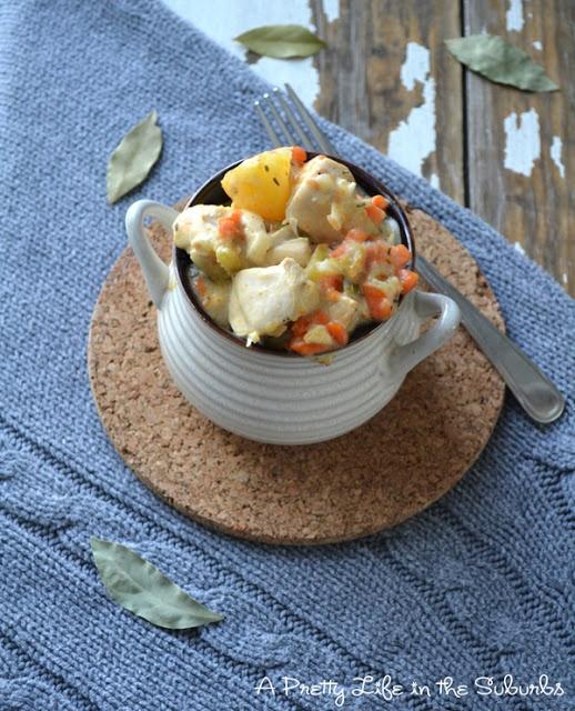Fall Meals: Creamy Chicken Stew