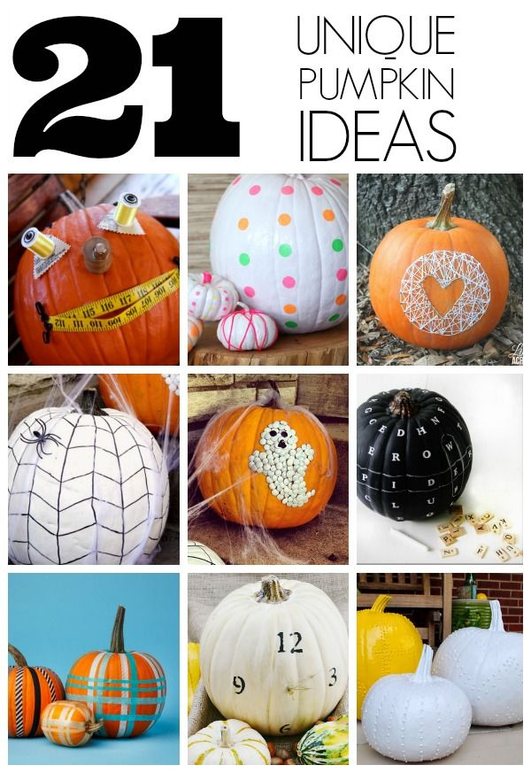 17 best images about popular pins on pinterest the Unique pumpkin decorating ideas