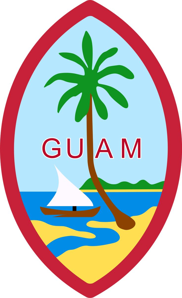 Coat of arms of Guam - Seals of the U.S. states - Wikipedia, the free encyclopedia