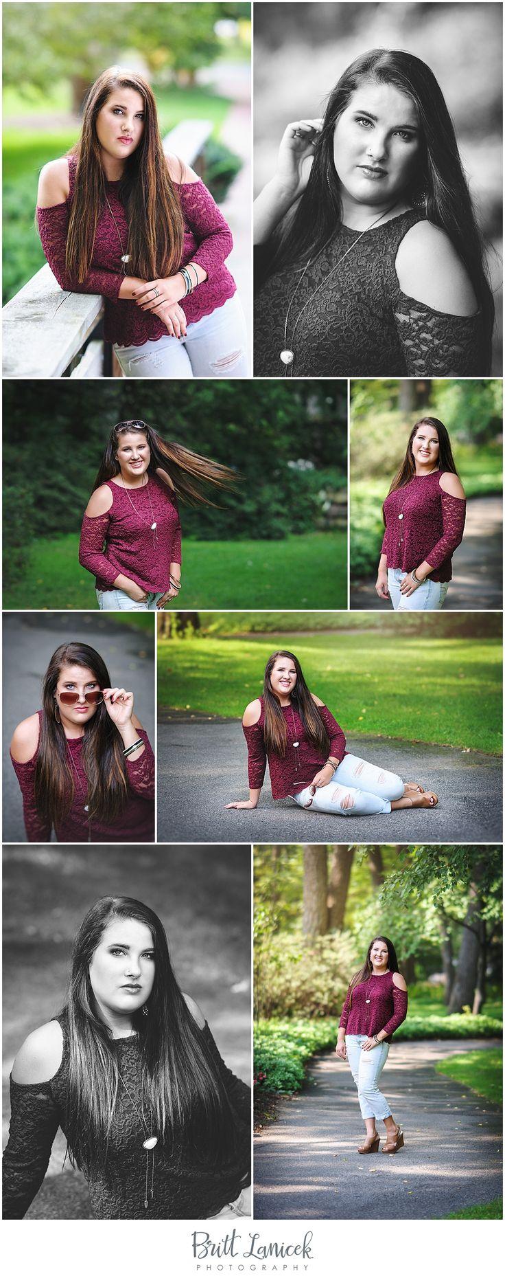 Summer senior pictures in Toledo Ohio by Britt Lanicek Photography