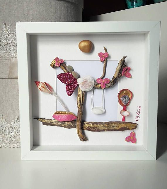https://www.etsy.com/listing/580756411/pebble-art-frame-girl-gift-new-born-baby #fdvafiadi