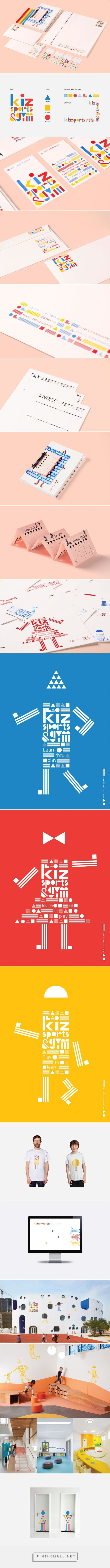 Kizsports and Gym Branding on Behance | Fivestar Branding – Design and Branding Agency & Inspiration Gallery