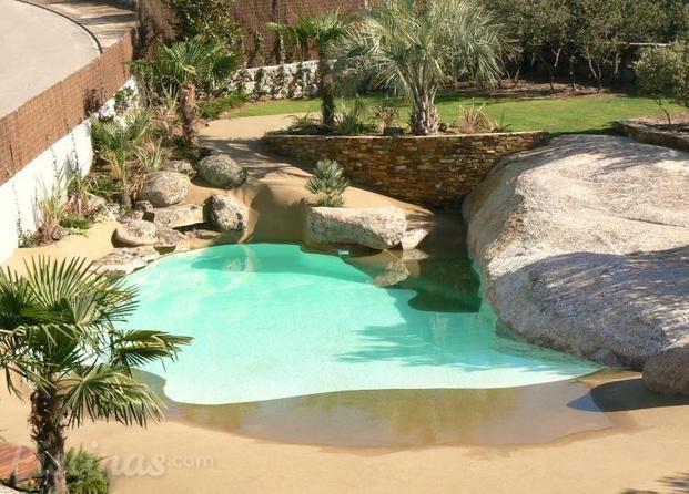 piscina de arena piscinas