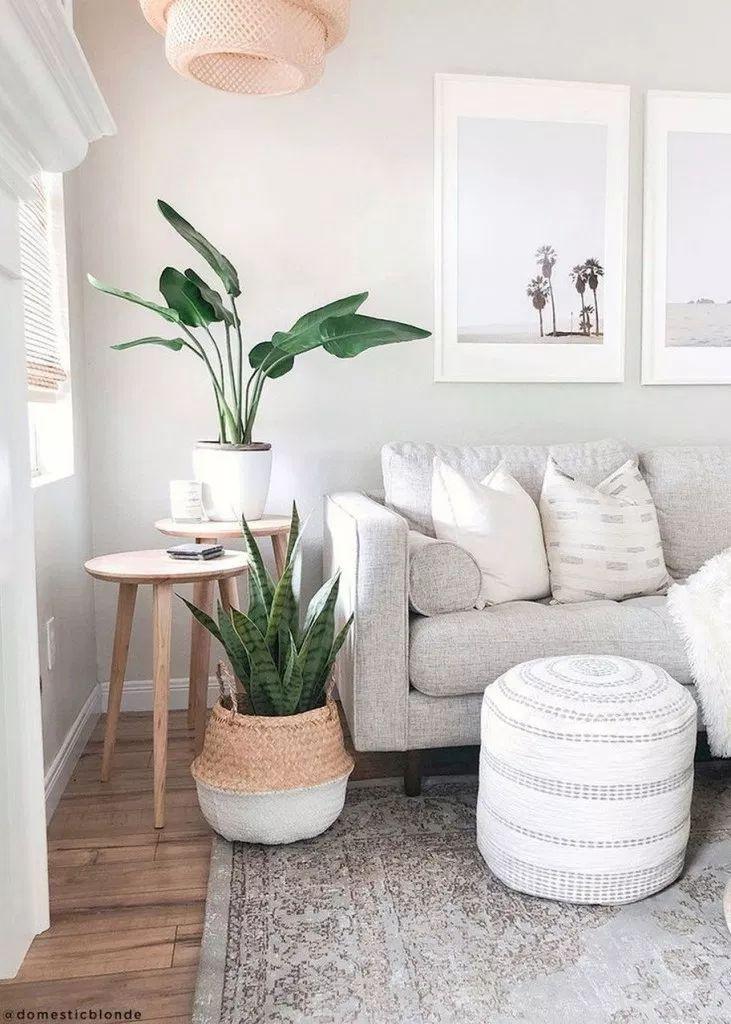 ✔85 modernes Apartmentdekor für Wohnzimmer 58