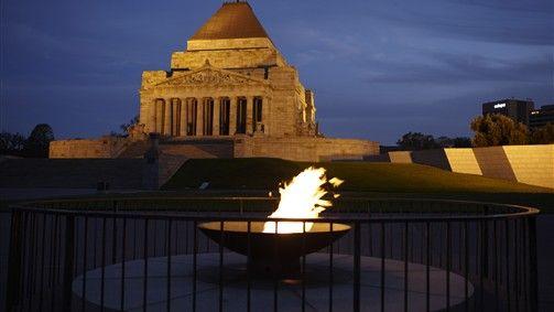 Shrine Of Remembrance, Attraction, Melbourne, Victoria, Australia
