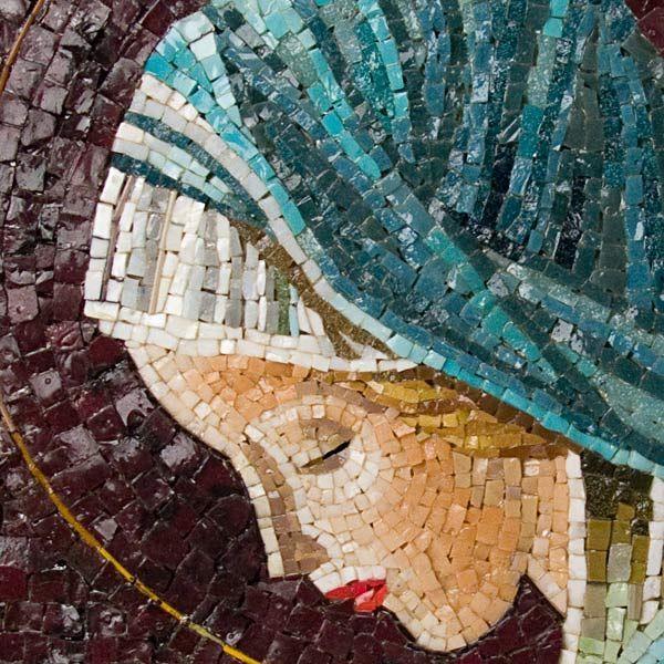 Miniature Murano Glass Mosaic Artwork, - di Michelangelo