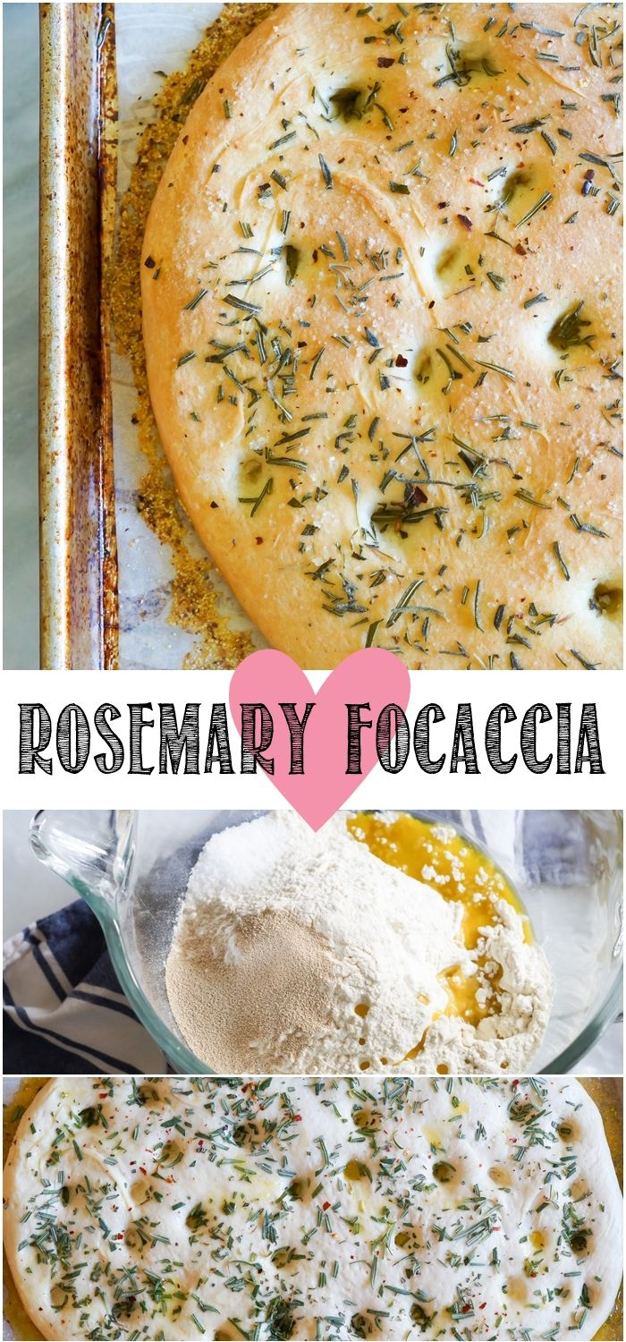 simple rosemary focaccia from @bakeat350  @thepioneerwoman