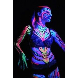 Let your imagination go wild with these awesome glow paints at runthenightnz