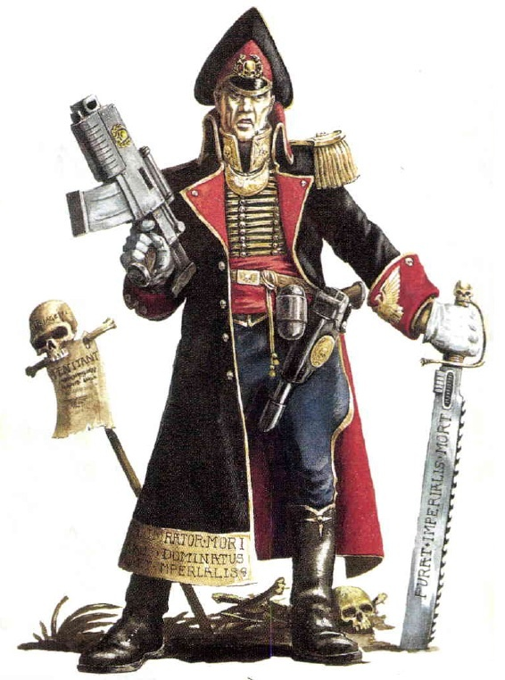 Imperial Guard - Warhammer 40K Wiki - Space Marines, Chaos, planets, and more