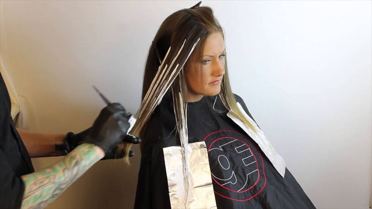 Ombré How to- Balayage-Driven Ombré Technique featuring Brian Haire..definitely want to try it this way..but with a light brown instead of blonde =)