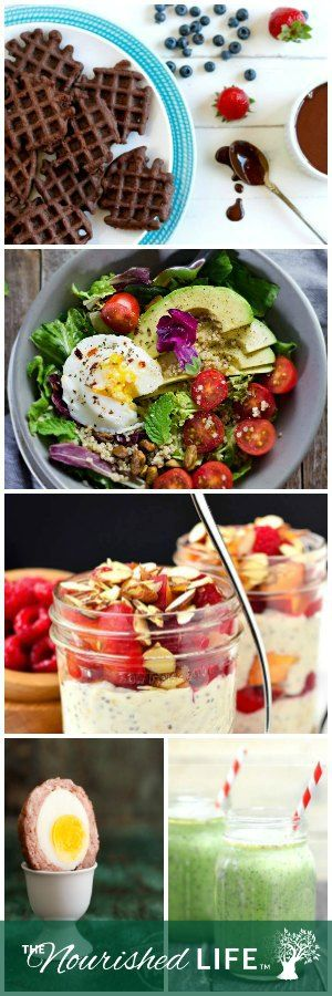 Try one of these easy healthy breakfast recipes today - at livingthenourishedlife.com