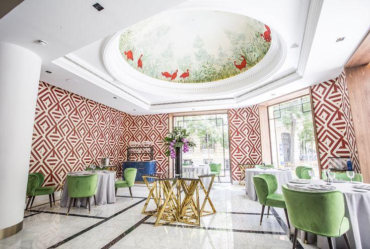 Restaurante Coque Madrid. Cocina hermanos Sandoval, diseño Jean Porsche #restaurantdesign #luxury #luxurylifestyle #design #desinginspiration