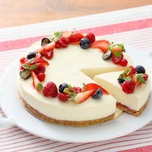 Petit cheesecake au Kiri, un petit régal à tester :) #kiri #dessert #recette #cheesecake #cream #cheese #fruit #recipe #kids #food
