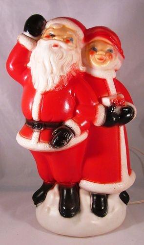 230 best Christmas Blow Molds images on Pinterest | Vintage ...