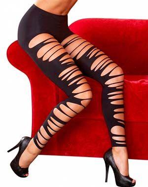 Νέο προϊόν: Μαύρο Κολάν με σχισίματα #sexyyou