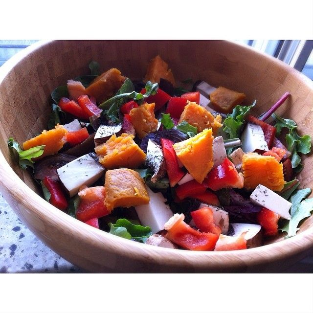 Sweet potato salad baby! Super simple, fast and delicious. You can find the RECIPE at www.cleanlivinlife.com #vegan #vegansofig #vegetarian #veganfoodshare #whatveganseat #whatvegansdo #healthy #eatclean #plantbased #fresh #energy #nutrition #cleanlivin #cleanlivinlife #foodporn #straightedge #veganfoodporn #veganlife #veganism #vegansofinstagram #veganlove #vegans #veganlifestyle #veganeats