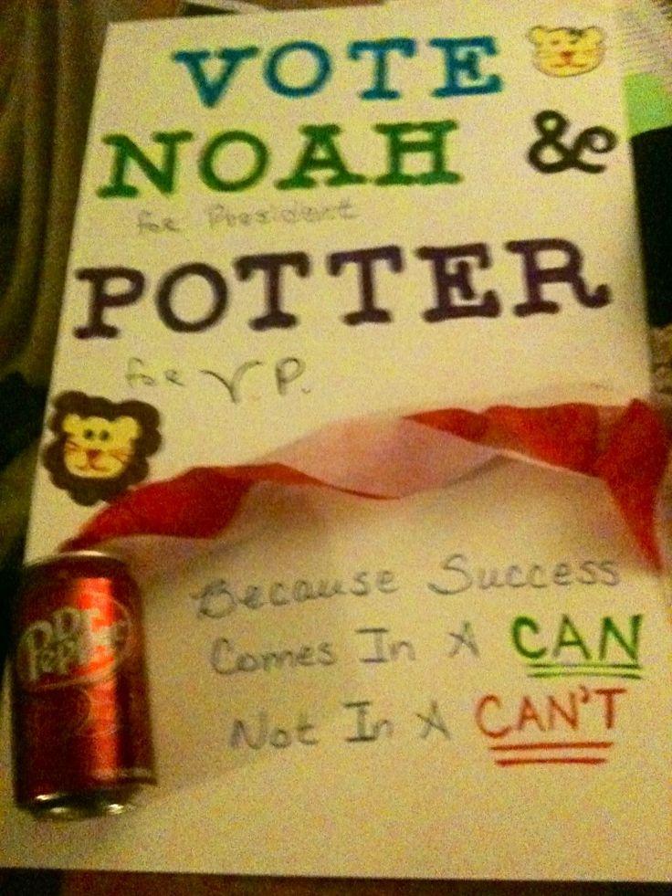 fifth grade president slogans | just b.CAUSE