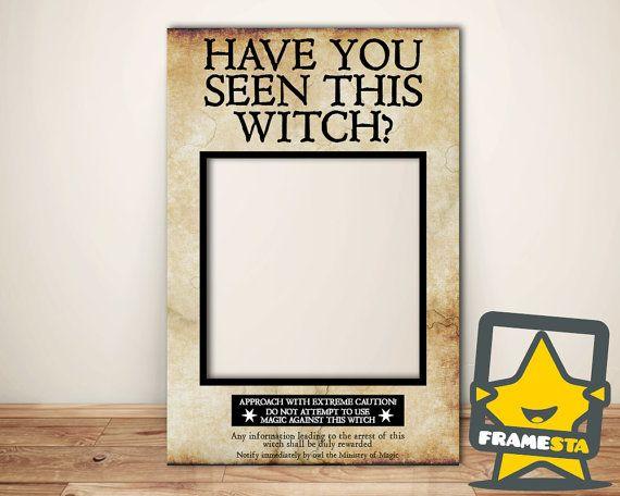 Has visto esta bruja foto cabina marco descarga por - Diy marcos para fotos ...