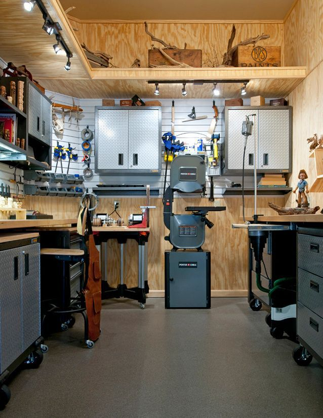 . Check website with best way to #learn #woodworking here: http://ewoodworking.ninja . Eye Popping Woodshops. Oh, how I would love to have a clean and tidy workshop like this - would not do any work in it! Just stand and admire its beauty!