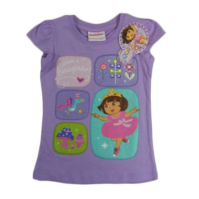 Girls Dora The Explorer T-Shirts