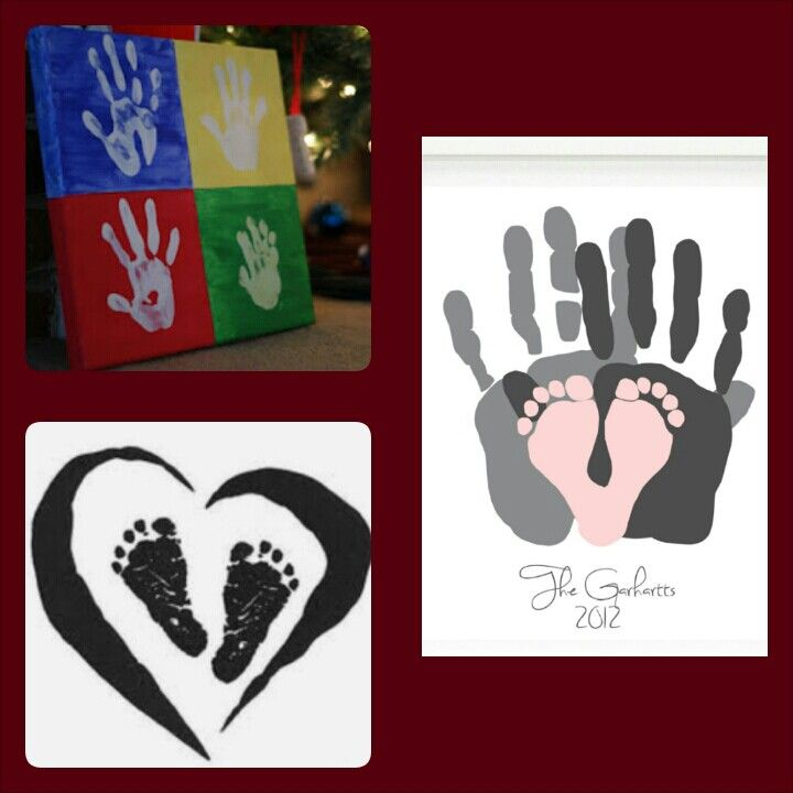 Keepsake Handprints Gift Ideas/ baby footprints / family handprints/ diy gift ideas/ any occasion gift ideas