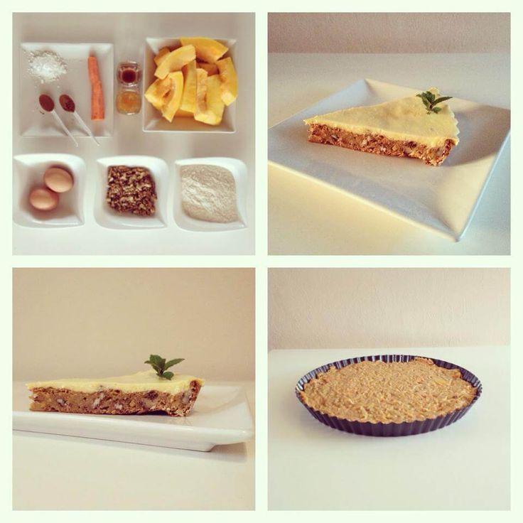 Dýňový koláč - Fitness Recepty