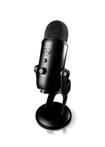 Blue Microphones Yeti USB Microphone - Blackout Edition Blue Microphones http://www.amazon.com/dp/B00N1YPXW2/ref=cm_sw_r_pi_dp_diWpwb0GAS7EQ